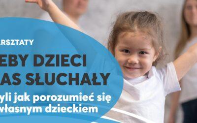 Warsztaty dla rodziców – wyjątkowo w Legnicy!